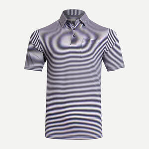 Men Lee Stripe Polo S/S