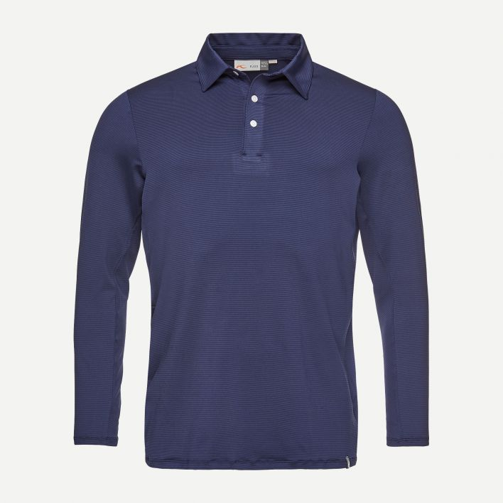 Men's Soren Polo Solid L/S