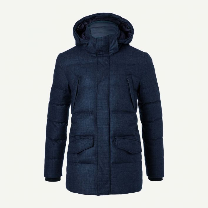 Men's Staz Wool Parka (fur option)