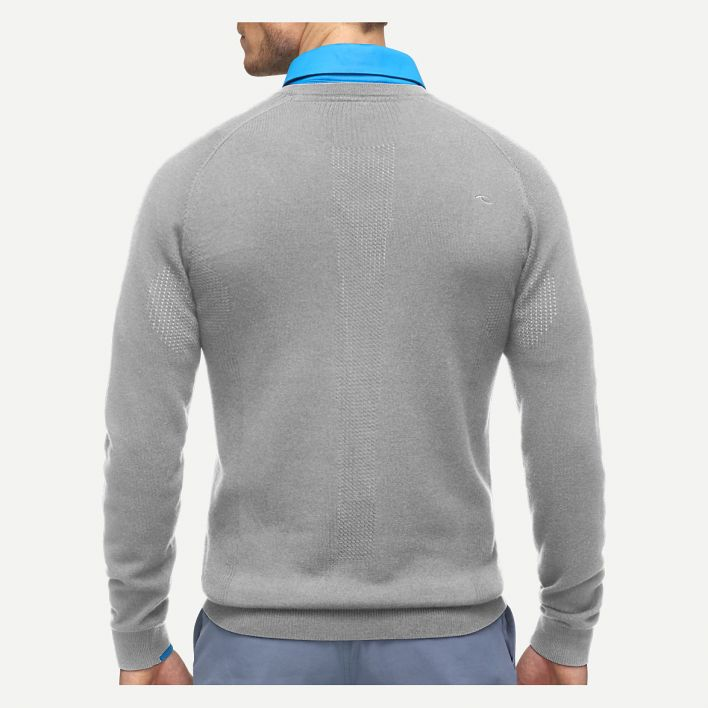 Men Kulm Engineered V-Neck Pullover