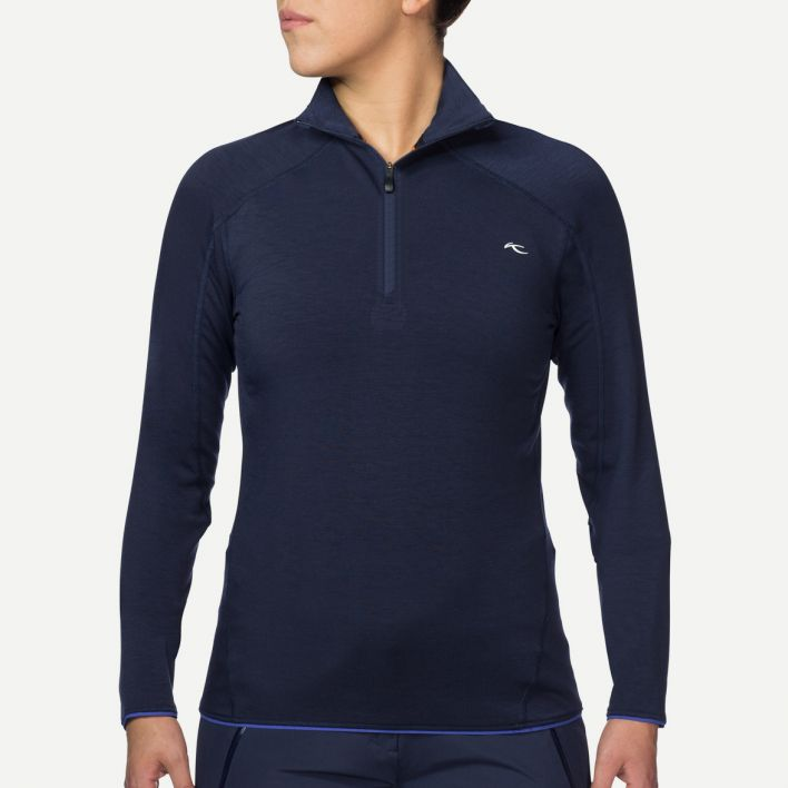 Ladies Trace Halfzip