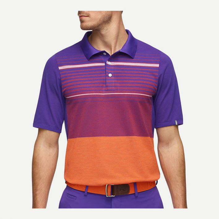 Men Stevie Striped Polo S/S
