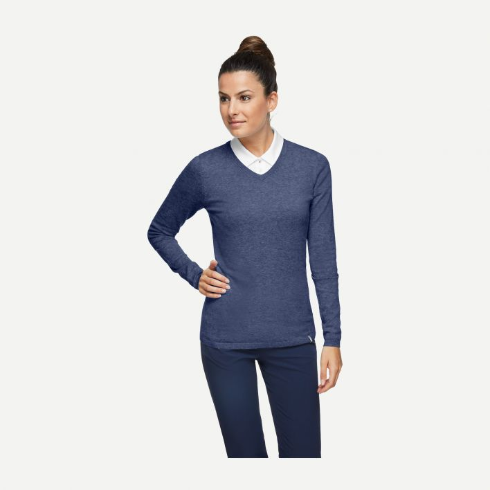 Ladies Kicki V-Neck Pullover