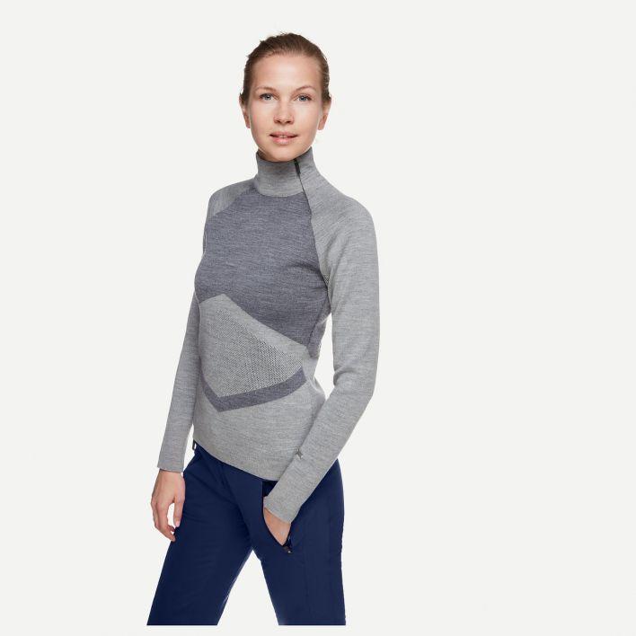 Women Sella Knit Halfzip