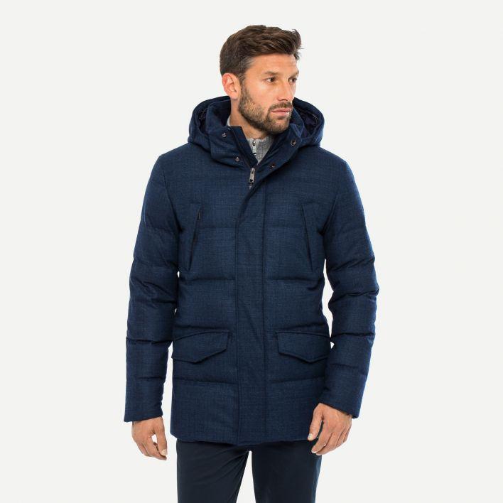 Men's Staz Wool Parka (fur option)