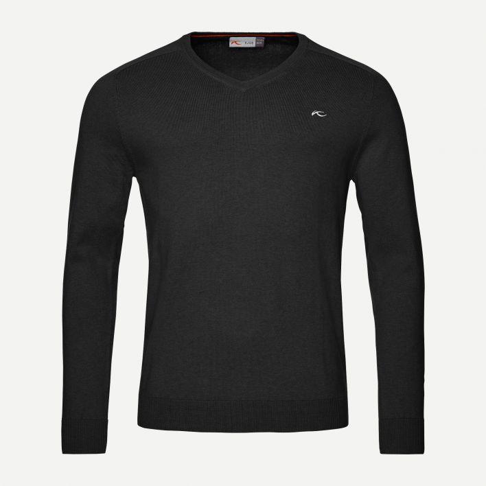 Men's Kirk V-Neck Pullover logo