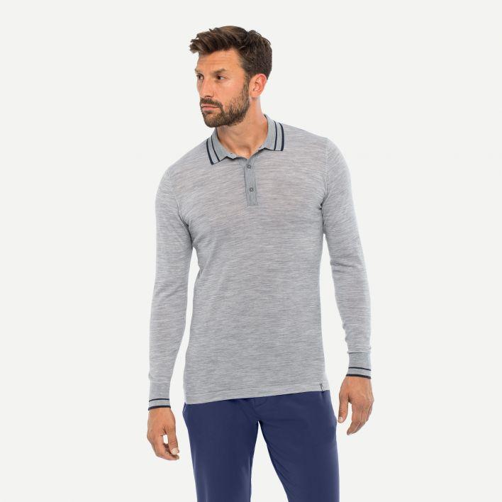Men's Siard Polo L/S (Regular Fit)