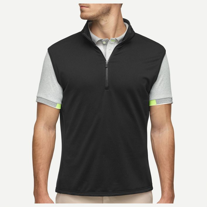 Men Diamond Fleece Vest
