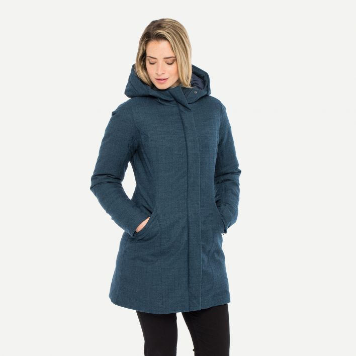 Women's Staz Wool Coat (fur option)