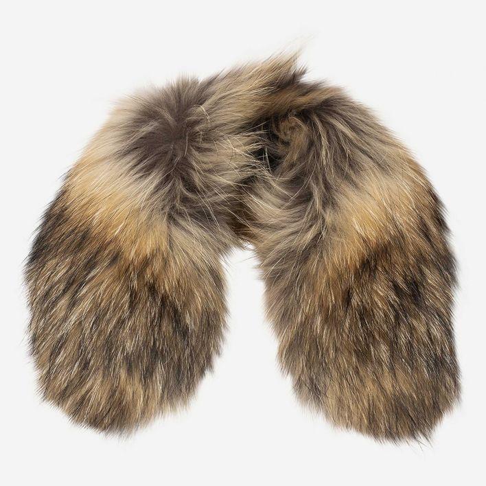 Women's Ski Hood Real Fur Trim
