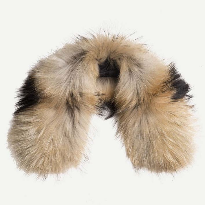 Women's LS Hood Real Fur Trim