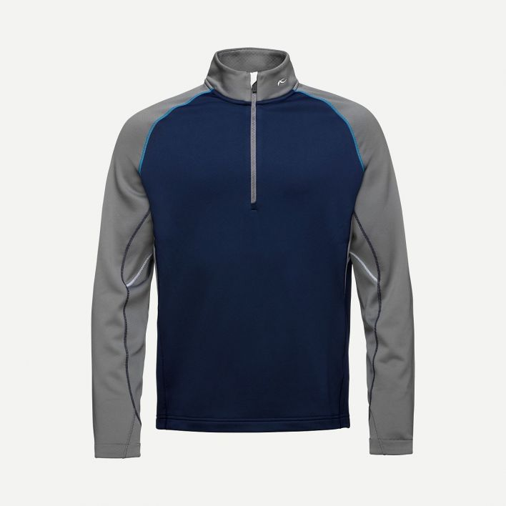 Men Diamond Fleece HalfZip