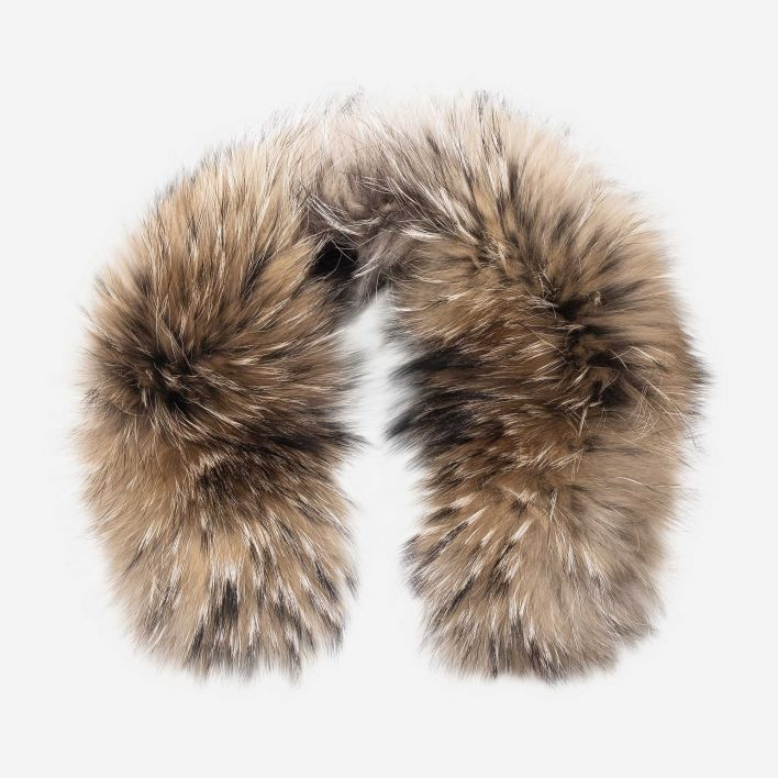 Men's LS Hood Real Fur Trim