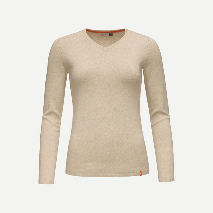 Ladies Kicki V-Neck Pullover