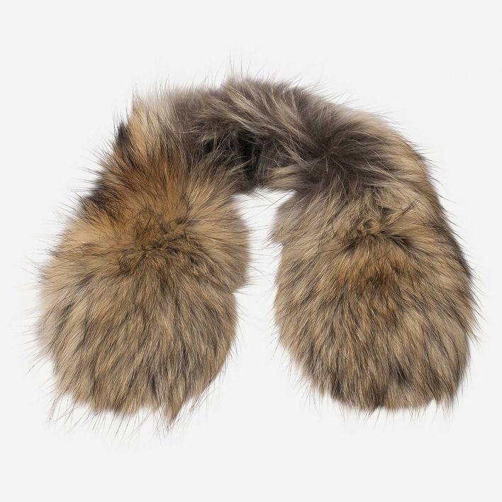 Men's Ski Hood Real Fur Trim
