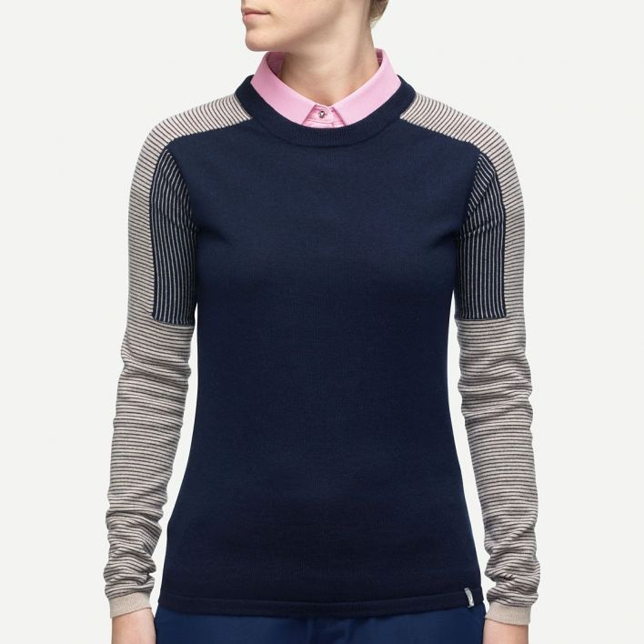 Ladies Kara Engineered Pullover